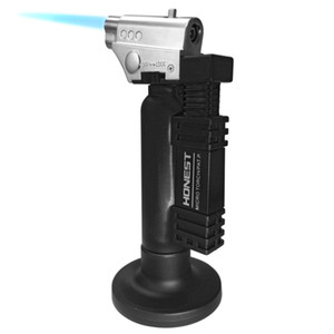 Grill Army Fans Outdoor Camping Supplies Inflatable Windproof Welding Gun Spray Straight Mini Portable Bbq Fire Desktop Lighter