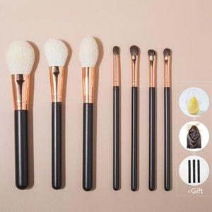 Shinedo 7 pcs makeup Brush Eye Brush Beauty Tools Powder Eyeshadow Contour blending Beauty Cosmetic Colorful For Make Up Tool