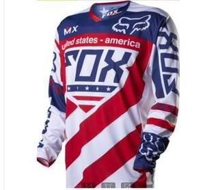 2020 fox descente de vente chaud hommes personnalisés et les femmes à manches longues costume de course costume cycliste sports de plein air hors route uniforme de l'équipe de moto