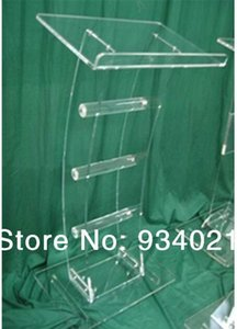 Acrylic Tabletop Lectern Plexiglass Podiums church pulpit desk