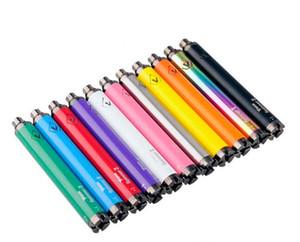 Vision Spinner 2 batterie 1650mAh 3.7V Evod Twist-4.8V Vision Spinner II Batterie tension variable pour 510 fil ETS Nautilus Vape Pen