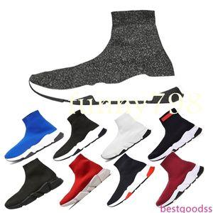2019 hot best Luxury Designer fashion Men Wave Runner Women Casual sneakers socks men chaussures scarpe zapatos hommes femmes Speed Trainer