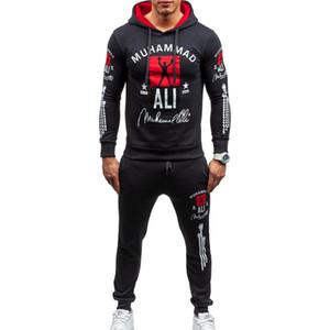 ZOGAA 남자 Tracksuit 브랜드 새로운 두 조각 세트 남성 캐주얼 Sweatsuit 스포츠웨어 후드 스웨터 바지 세트 남자와 트랙 슈트