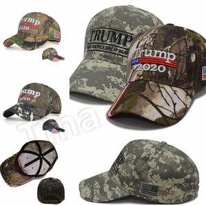 Новая Вышивка Trump Hats 2020 Make America Great Again Donald Trump Бейсболки Бейсболки Для Взрослых Спортивная Шляпа Party Favor 4749