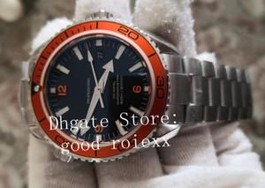 Cal.8500 reloj automático para hombre Naranja Negro Océano hombres de los relojes de apnea completa de acero Bond 007 Sapphire 600m Planet profesionales de buceo de pulsera