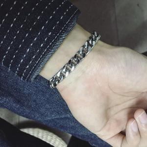 bracelets mens stainless steel chain on hand for bracelet cuban link bracelet Wholesale male accessories 2020 fasion jewellery