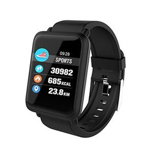 Smart Watch M28 IP68 Wasserdichte Bluetooth Herzfrequenz-Blutdruck Smartwatch für Android IOS-Telefon LINK SPORT