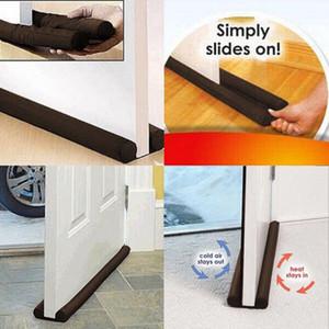Qualitäts-Twin Tür Türanschlag Dekor Draft Dodger Schutz Stopper Energy Saving-Schutz-Reinigungs-Tools für Tür-Fenster