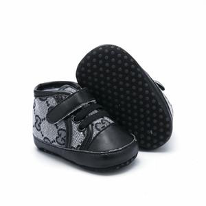 Art und Weise PU-Leder-Baby Mokassins neugeborene Baby-Schuhe für Kinder Turnschuhe Kleinkind Säugling Krippe Schuhe Jungen-Mädchen-erste Wanderer