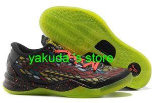 Novas 8 Tênis de basquete para homens Venda capital fixo inanimado Sneakers Mamba Shoe 2020 Mamba Jings Melhores sapatos de desconto natal para sempre 2012 Shoe