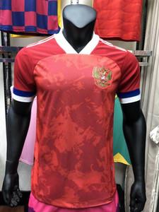 Versión del reproductor 2020 2021 Rusia equipo nacional de fútbol de los jerseys CHALOV MOGILEVETS Smolov Dzyuba Dzagoev 20 21 camisetas de fútbol del jersey del jugador