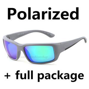 Nuovo superiore Polarized Sunglasses pesca marittima di marca Occhiali Surf Sport Uomini occhiali all'ingrosso della fabbrica vendita calda 580P Full Package