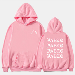 Fashion Off Autumn Winter Sweatshirts Men Funny Letter Hoodies I Feel Like Pablo Hoodie Sweatshirt Hip Hop Fleece Pullover Tops