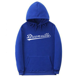 남성 Dreamville J. 콜 스웨터 가을 봄 후드 후드 힙합 캐주얼 풀오버 의류 새로운 탑