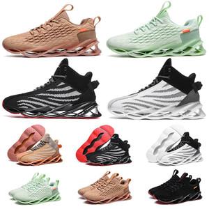 Nuevos Trianers para los hombres de los zapatos corrientes de tenis de color múltiple Negro Blanco Naranja Verde para mujer Walking acampa yendo de jogging zapatillas de gimnasia