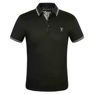 2020 neue Herrenmode Designer Marke Sommer Poloshirt Stickerei Herren Poloshirt Mode Shirt Männer und Frauen High Street Casual Top T-Shirt