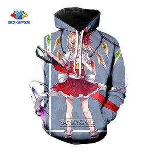 SONSPEE Women TouHou Project Hoodie 3D Print Japanese Streetwear Anime Sweatshirt Mens Cosplay Costume Hoodies Harajuku Pullover