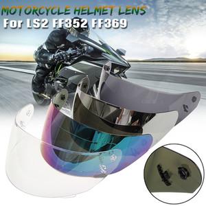 Casque de moto Full Face objectif moto Visière Pour LS2 FF352 FF351 FF369 FF384 Lunettes facial Outils lentille