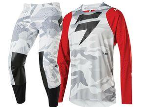 DESLOCAMENTO 2020 off-road da motocicleta terno dos homens de roupas roupas de corrida dos homens Jersey roupas para quatro estações universais
