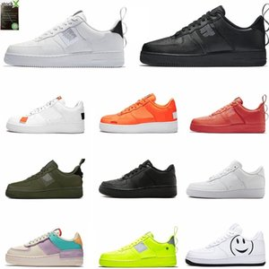 Nike Air Force 1 air los hombres zapatos casuales cómodo respirable del acoplamiento PLUS Diseño de calidad superior de las mujeres del tamaño 36-46