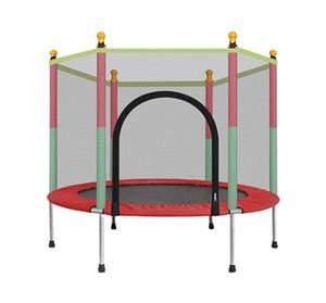 Kinder-Trampolin mit Sicherheitskabine Net Sprungmatte und Frühlings-Abdeckung Padding kann 442 lbs laden, für Kinder Innen- und Außenbereich