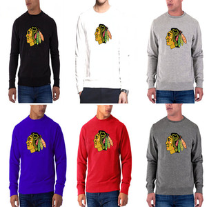 New Temporada Chicago Blackhawks Cualquier nombre Cualquier número Rojo Dassler Climalite Rendimiento de manga larga Raglan Hockey Camiseta