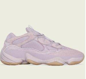 2020 Mais recente Running Shoes 500 Macio Visão Designer Kanye West roxo corredor da onda Moda Olhar Esporte sapatilha