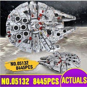 Lepining Звездные войны Игрушки МОС-18916 Империя над Jedha Сити и 05132 Star Destroyer Model Building Blocks Детские рождественские подарки