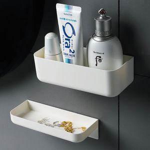 Wall mounted cosmetic storage box Bathroom Storage Rack Wall Shelf Bathroom Organizer Shelves For Wall Shelf Makeup Organize