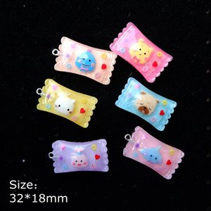 Cartoon Candy Charms Pendants for decoration necklace earring key chain Jewelry Making