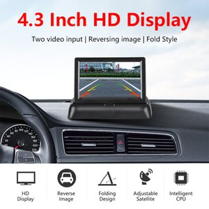 """4.3"""" Wirless Car Monitor TFT LCD Car DVR Rear View Monitor Display Parking Rearview System With Backup Reverse Camera For RV"""