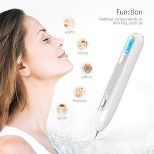 Nouveau Beauté Pen Laser Plasma Mole visage enlever les taches sombres Soins de la peau point Tattoo Verrues Pen Portable Device Beauté