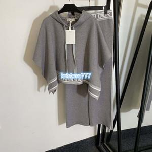 200 kadın lüks tasarım + uzun pantolon pantolon kapüşonlu gömlek gündelik setleri triko set büyük boy forması yarasa kollu kazak üstleri paltoları örme