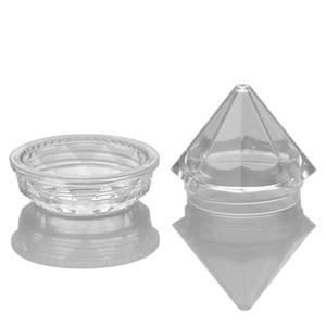 5g Clear Diamond Empty Bottle Bottle contenitore acrilico per gioielli crema cosmetica Empty Jar Pot Eyeshadow F2448
