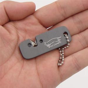야외 캠핑 울트라 하드 EDC 장비 ONNLINK 미니 텅스텐 철강 전문 고정 각도 숫돌 휴대용 나이프 깍개