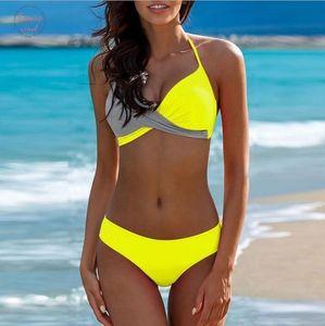 2020 Swimsuit Womens Swimming Suit Sexy Bikini Swimwear Women Female Separate Push Up For Girls Plus Large Xxl Thong