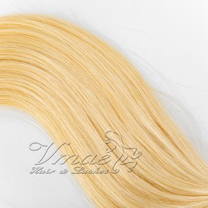 #613 #60 Natural Color 1g  strand 100g Single Drawn Brazilian I tip Human Pre-bonded Virgin Remy Human Straight Keratin Hair Extensions