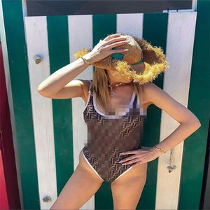 2020 Hot Sale FD Designer Fashion Sling Flower Print Swimwear бикини для женщин письмо купальник бандаж сексуальный купальный цельный костюм S-XL
