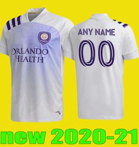 novo orlando 2020 2021 MLS Away Soccer Jersey 20 21 Cidade # 17 NANI DWYER Camisola de Futebol # 9 MUELLER Akindele MOUTINHO Football Shirt