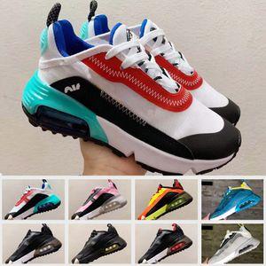 2090 Nova Desinger Crianças Running Shoes Crianças Outdoor Sneakers Boy Girl instrutor bebê calçados esportivos da criança Calzado Tamanho 28-35