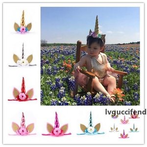Baby Hairs Hoop Girls Photography Cat Ears Hair Band Kid Sparkle Unicorn Headband Party Articles Popular 8 5at C R