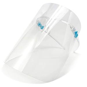 Titolare PET Visiera di vetro di protezione Oil-Splash Proof Anti-UV di protezione coprire il volto trasparente facciale maschera di vetro 300pcs CCA12301