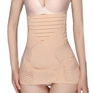 2019 ORLVS Yeni 3'ü 1 Arada Belly Belly Wrap Bel / Pelvis Kemer Şekillendirici Postnatal Shapewear ???????? Ücretsiz kargo T3