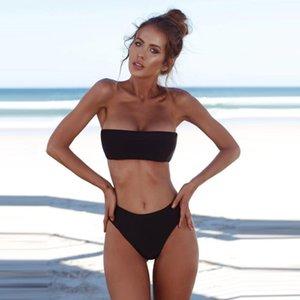 Women Bandeau Bandage Bikini Set Push-Up Brazilian Swimwear Beachwear Swimsuit sexy bikini set brazilian swimsuit Beach Suit