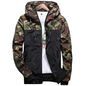 Asstseries marchio di abbigliamento tattico rivestimento degli uomini impermeabile antivento cappotto caldo camuffamento incappucciato Camo Army Abbigliamento 5XL