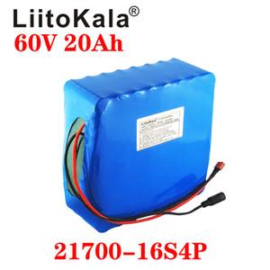 LiitoKala 60V 20Ah 35Ah 30Ah 40Ahelectric motorino bateria 60V batteria elettrica della bicicletta ebike batteria al litio scooter 60V 1000W