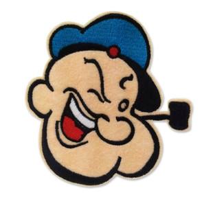 Cartoon Popeye le fer brodé Sailor Man sur pièces pour vêtements Filles Garçons Vêtements Badges autocollants Appliqués gros