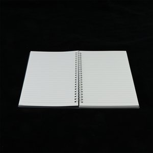 Frosted Transparent Cover Loose Leaf Blank Journal Diary Notebook For Gifts