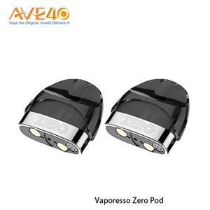 Vaporesso Zero Pod original vacío con capacidad de 2 ml y 1.0ohm Coil Head E-cig Vape Pod 2pc / pack