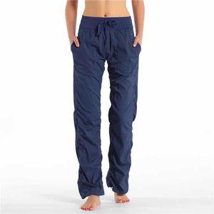 Bayan Tayt Yoga Pantolon Dans Stüdyosu Pantolon kadın Spor Gevşek Spor Sweatpants Stüdyo Pantolon Koşu Lüks Tasarımcı Yoga Pantolon